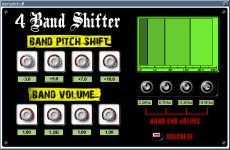 4 band shifter vst plugin