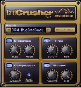 distortion vst effect camelcrusher