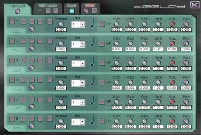 vst plugin effect deelay_sm.
