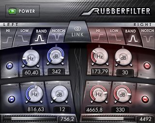 vst plug-in rubber-filter