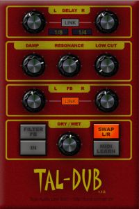 plugin effect tal dub delay