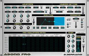 Free Virtual Instrument Plugin Adonis