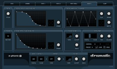 Virtual Instrument Drum Synth Drumatic3