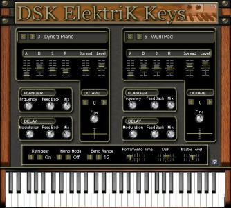 virtual instrument elektrik-keys