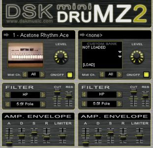 Best 808 909 VSTi Mini DrumZ 2