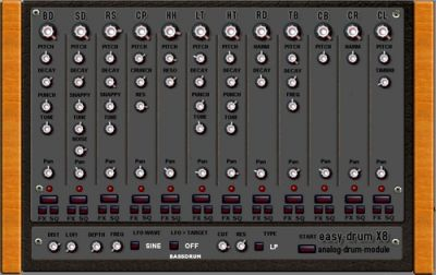 free vst plugin easy-drum-x8