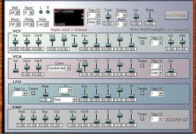 Soundfont Sample Player Plugin KX SF2-ST