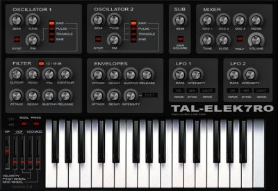 Virtual Instrument Bass Synth Tal-Elek7ro