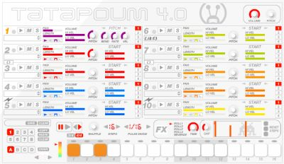 Free Drum Sampler VST Plug-in Tatapoum