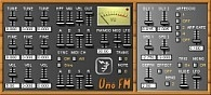 Free VST Plugin Uno FM Synth.